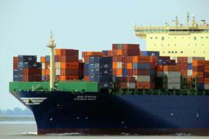 contenedores transporte marítimo