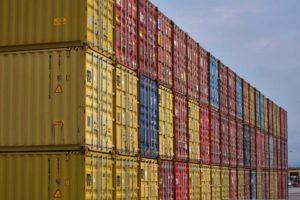 tipos contenedores transporte marítimo