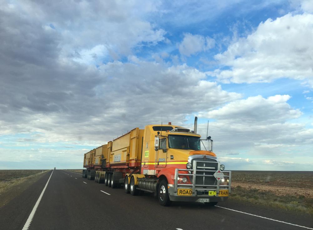 ventajas transporte terrestre