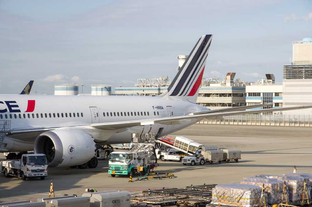 avión transporte aéreo
