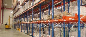 almacenamiento de mercancías